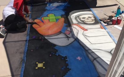 Our Chalk the Block Artists